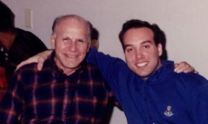 A photo of Bob and Me at my wedding rehersal dinner back in '95.