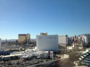 MGM Grand Room View