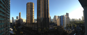 Panoramic View off my balcony