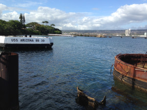 The USS Arizona's Berth on Battleship Row