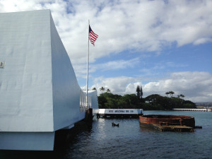 The USS Arizona Memorial, Pearl Harbor 2
