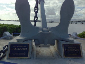 The USS Arizona's Anchor
